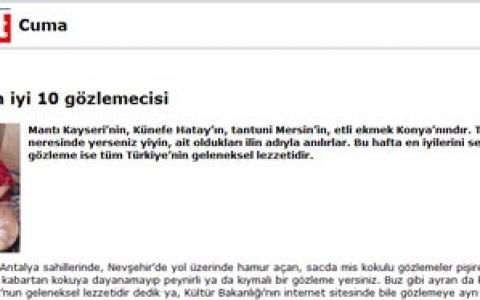Türkiye'nin en iyi 10 gözlemecisi / Hürriyet