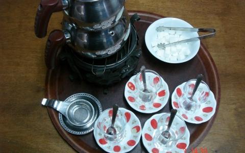 Demlikte Çay