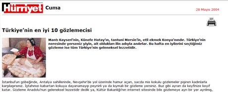 hurriyet Türkiye'nin en iyi 10 gözlemecisi / Hürriyet